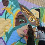 ¡Ya está terminado el mural participativo del CEPer!