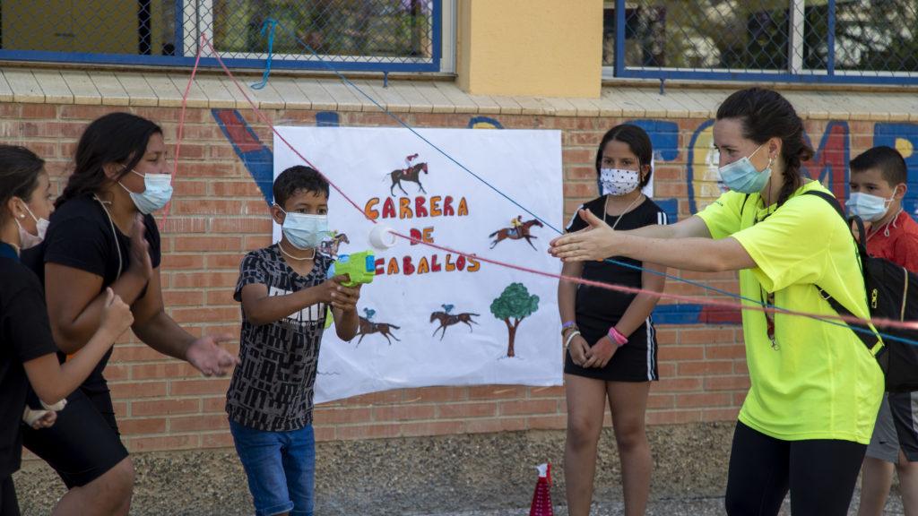 Actividad de la Asociación Entre Amigos de Sevilla en el Colegio Andalucía