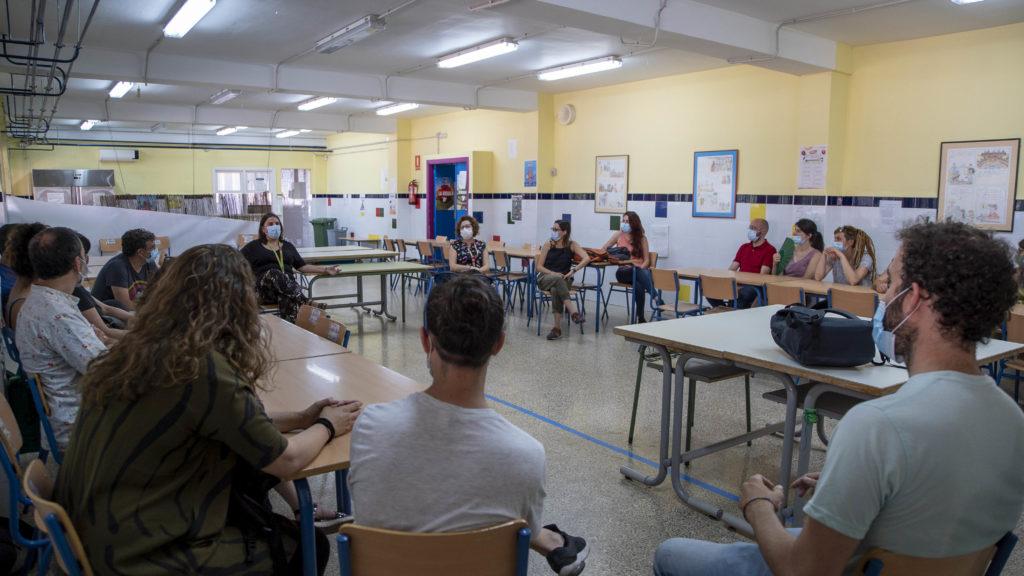 Visita Colegio Andalucía